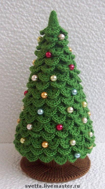 Вязание елки мастер класс