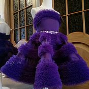 Одежда ручной работы. Ярмарка Мастеров - ручная работа Одежда: лиловое платье. Handmade.