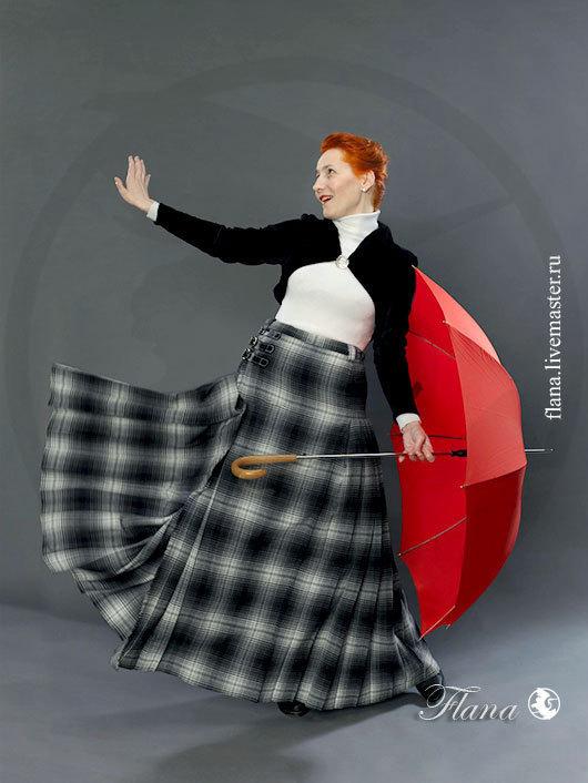 Килт шотландский (женский) - историческая реконструкция, эксклюзив. Индивидуальный пошив, Флана