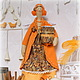 Яна Мишук `УЮТНЫЕ ФАНТАЗИИ` игрушки ручной работы Тильда хранительница ватных дисков АПЕЛЬСИН