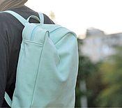 Сумки и аксессуары ручной работы. Ярмарка Мастеров - ручная работа Daypack из натуральной кожи (рюкзак). Handmade.