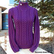 """Одежда ручной работы. Ярмарка Мастеров - ручная работа Вязаный женский свитер  """"Хамелеон"""". Handmade."""