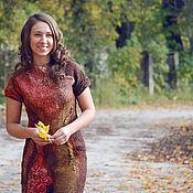 """Одежда ручной работы. Ярмарка Мастеров - ручная работа платье """"Есень"""". Handmade."""