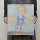 """Фантазийные сюжеты ручной работы. Ярмарка Мастеров - ручная работа. Купить Картина """"Маленький принц"""". Handmade. Картина, авторская картина"""