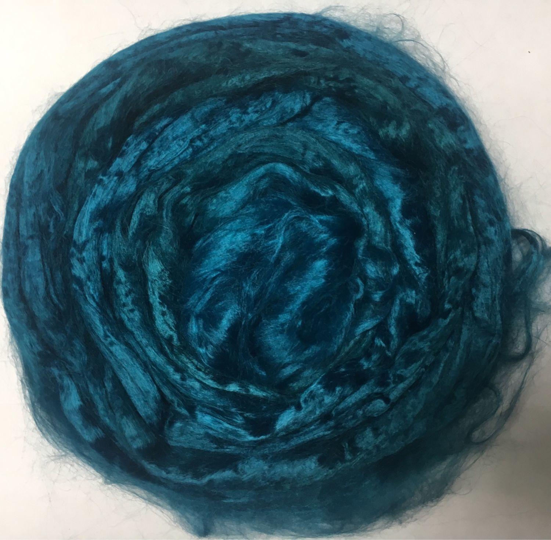 Viscose felting Emerald. 10 gr. Troitsk, Fabric, Berdsk,  Фото №1