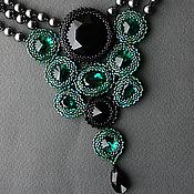 """Украшения ручной работы. Ярмарка Мастеров - ручная работа Комплект """"Emerald"""". Handmade."""
