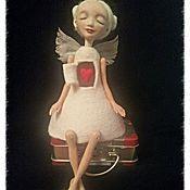 """Куклы и игрушки ручной работы. Ярмарка Мастеров - ручная работа """"Влюблённая"""". Handmade."""