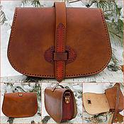 Crossbody bag handmade. Livemaster - original item Handbag women`s shoulder.. Handmade.