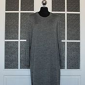 Одежда ручной работы. Ярмарка Мастеров - ручная работа Длинное тёплое платье. Handmade.