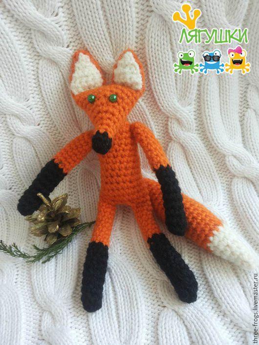 Игрушки животные, ручной работы. Ярмарка Мастеров - ручная работа. Купить Рыжая лисичка. Handmade. Лиса, лисичка игрушка, лис