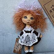 Куклы и игрушки ручной работы. Ярмарка Мастеров - ручная работа Малявка, которая боялась идти в школу..... Handmade.