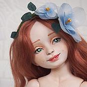 Куклы и игрушки ручной работы. Ярмарка Мастеров - ручная работа Джинни (шарнирная кукла). Handmade.