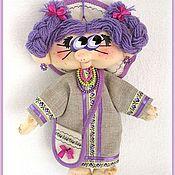 Куклы и игрушки ручной работы. Ярмарка Мастеров - ручная работа Кукла Фиалка. Handmade.