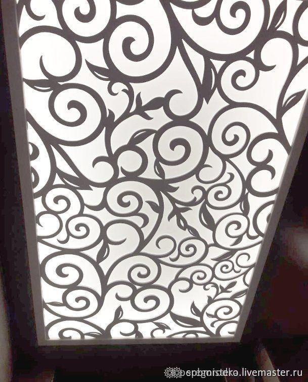Потолок с подсветкой в прихожей, Люстры, Санкт-Петербург,  Фото №1