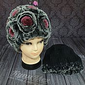 Аксессуары handmade. Livemaster - original item Fur hat model