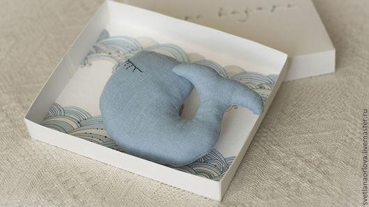 Коллекционные куклы ручной работы. Ярмарка Мастеров - ручная работа. Купить Малыш - китик. Handmade. Голубой, море-море, в подарок