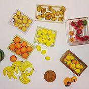 Куклы и игрушки handmade. Livemaster - original item Fruits, vegetables for Dollhouse miniature Food for dolls. Handmade.