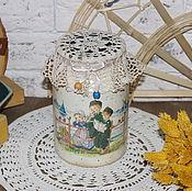 """Для дома и интерьера ручной работы. Ярмарка Мастеров - ручная работа Бидон """"Голландия"""". Handmade."""
