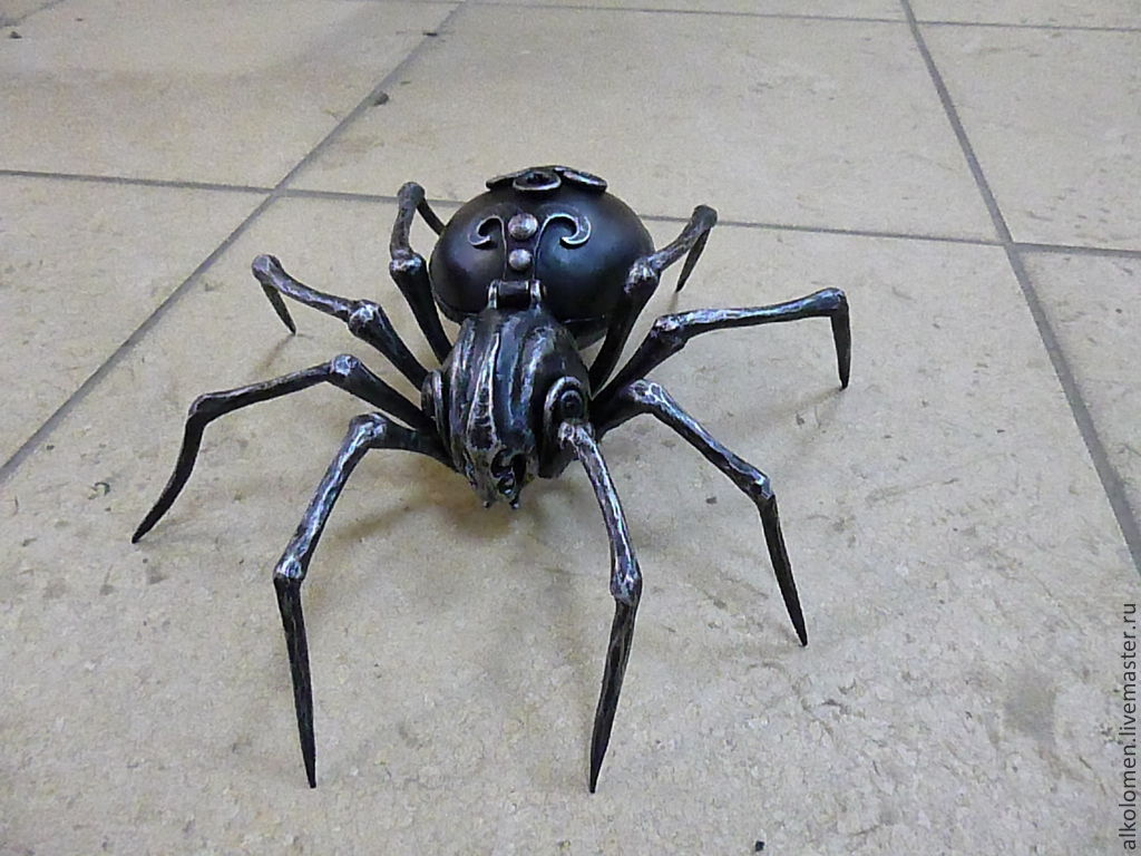 Как из железа сделать паука 943