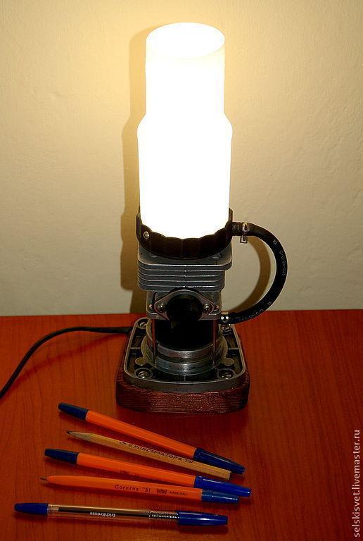 """Освещение ручной работы. Ярмарка Мастеров - ручная работа. Купить Лампа """"Jetlight"""". Handmade. Лампа, дизайн, дерево"""