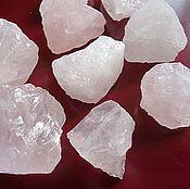 Материалы для творчества ручной работы. Ярмарка Мастеров - ручная работа Розовый кварц необработанный камень крупный. Handmade.