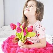 """Цветы и флористика ручной работы. Ярмарка Мастеров - ручная работа Тюльпаны """"Яркие"""". Handmade."""