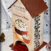 """Для дома и интерьера ручной работы. Ярмарка Мастеров - ручная работа Чайный домик """"Ароматный"""". Handmade."""