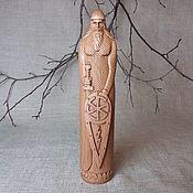 Для дома и интерьера handmade. Livemaster - original item Perun, Slavic god, wooden statuette. Handmade.