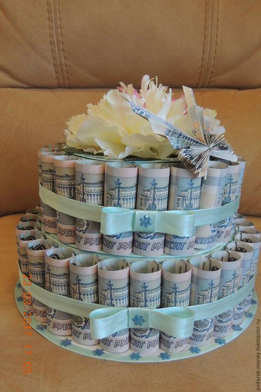 Торты из денег как сделать