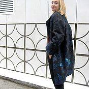 Одежда ручной работы. Ярмарка Мастеров - ручная работа Японское пальто валяное. Handmade.
