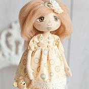 Куклы и игрушки ручной работы. Ярмарка Мастеров - ручная работа Кукла Полина.. Handmade.