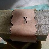 Косметика ручной работы. Ярмарка Мастеров - ручная работа Мыло с нуля  для проблемной кожи «Крапива, хвощ, подорожник». Handmade.