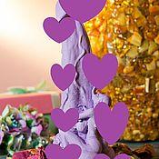 Приколы ручной работы. Ярмарка Мастеров - ручная работа Мужской орган Фиолетовый. Handmade.