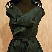 """Одежда ручной работы. Ярмарка Мастеров - ручная работа Жилет валяный """"Ирландия"""". Handmade."""