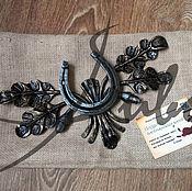 """Подарки к праздникам ручной работы. Ярмарка Мастеров - ручная работа Подкова """"оберег"""". Handmade."""