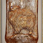 Картины и панно handmade. Livemaster - original item Bottle decorative
