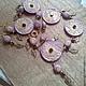 Сливовый шербет - ожерелье в восточном стиле