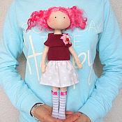 Куклы и игрушки ручной работы. Ярмарка Мастеров - ручная работа Кукла со сменной одеждой. Тряпичная Кукла. Текстильная Кукла. (7). Handmade.