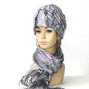 Аксессуары ручной работы. Ярмарка Мастеров - ручная работа Туманность  шапка валяная оригинальная. Handmade.