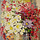 Картины цветов ручной работы. Ярмарка Мастеров - ручная работа. Купить Музыка букета. Handmade. Цветы, букет, масло