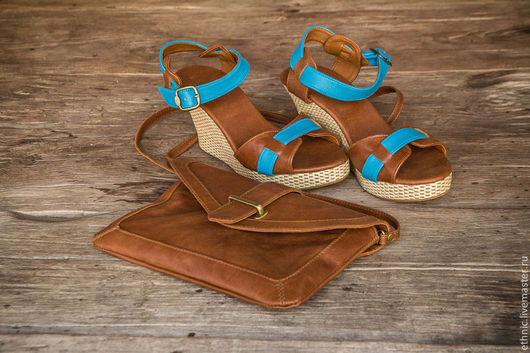 Обувь ручной работы. Ярмарка Мастеров - ручная работа. Купить Туфли из натуральной кожи Jess. Handmade. Коричневый, туфли женские