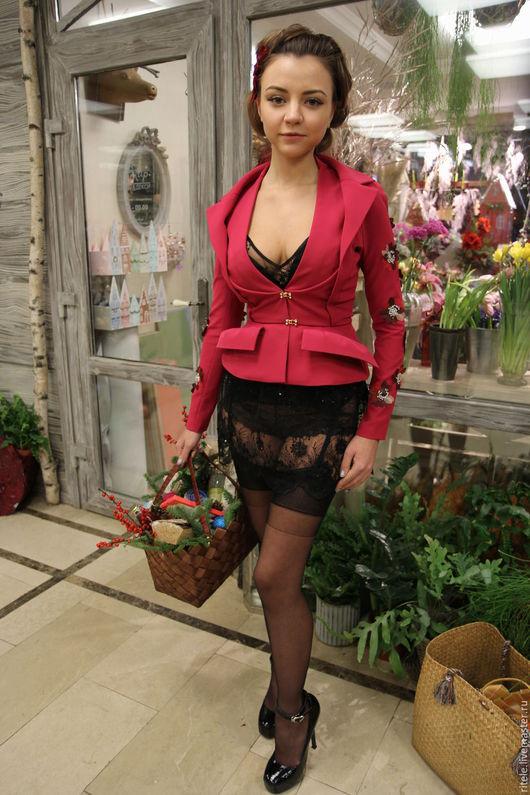 """Пиджаки, жакеты ручной работы. Ярмарка Мастеров - ручная работа. Купить Жакет """"Lady Dior"""". Handmade. Платье, костюм женский"""
