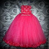 Работы для детей, ручной работы. Ярмарка Мастеров - ручная работа Пышное платье для девочки Цветочная. Handmade.