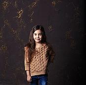 Работы для детей, handmade. Livemaster - original item Children`s felted tunic. Handmade.