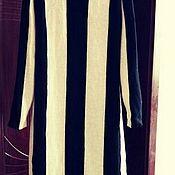 Одежда handmade. Livemaster - original item dress - horizontal stripe ( pure cashmere ). Handmade.