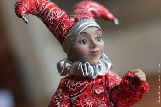 Коллекционные куклы ручной работы. Ярмарка Мастеров - ручная работа. Купить Скоморох Илья. Handmade. Кукла ручной работы