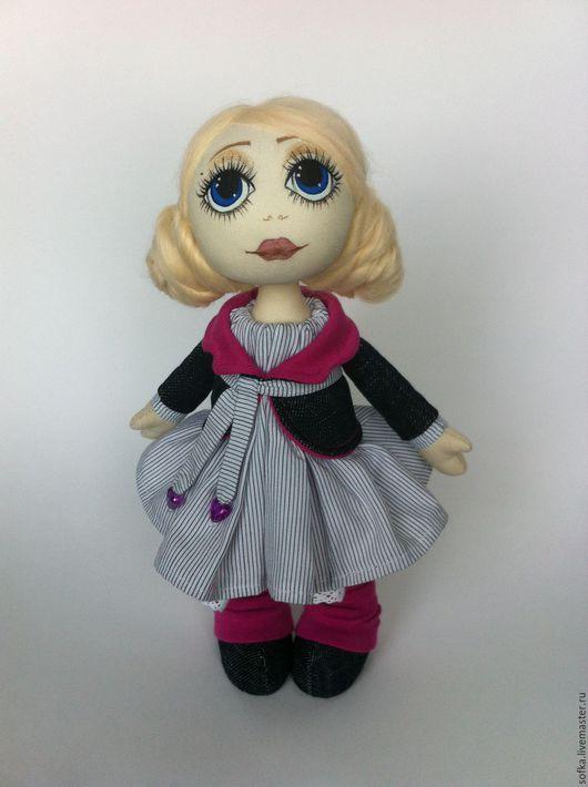Коллекционные куклы ручной работы. Ярмарка Мастеров - ручная работа. Купить Кукла коллекционная. Handmade. Комбинированный, кукла текстильная