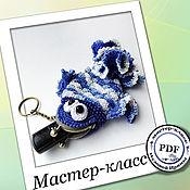 Материалы для творчества handmade. Livemaster - original item Guppy - plasnica. Description of knitting (MK). Handmade.
