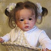 Куклы и игрушки ручной работы. Ярмарка Мастеров - ручная работа Кукла реборн Анюта. Handmade.