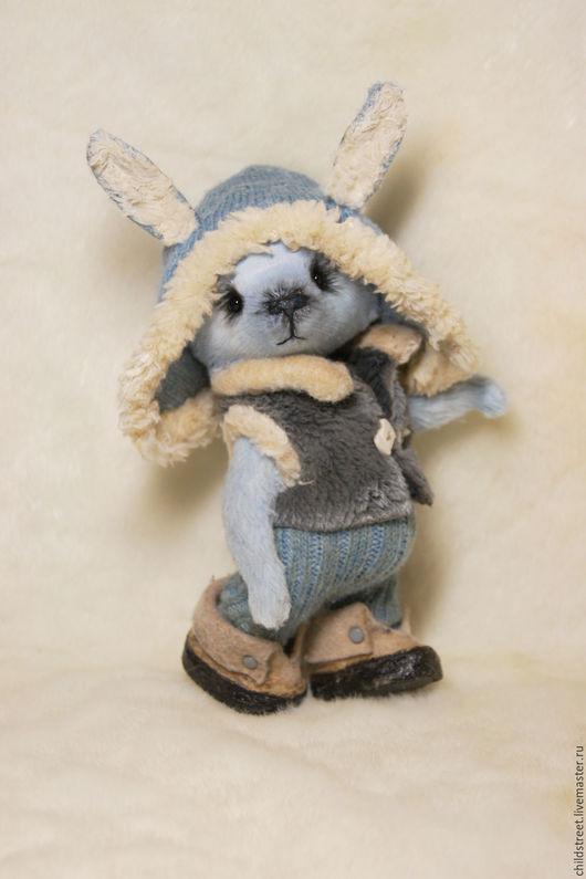 Мишки Тедди ручной работы. Ярмарка Мастеров - ручная работа. Купить мой зайка))). Handmade. Голубой, мишка в одежке, купить